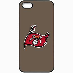 Personalized iPhone 5 5S Cell phone Case/Cover Skin Nfl Tampa Bay Buccaneers 6 Sport Black