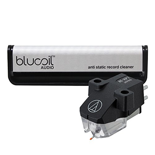 Audio-Technica AT-XP7 Dual Moving Magnet Stereo Turntable Cartridge -INCLUDES- Blucoil Audio Carbon Anti-Static Fiber Cleaning Brush for Vinyl/LP Records by blucoil