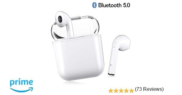 Auriculares Bluetooth, Auriculares Inalámbricos Auriculares Bluetooth 5.0 In Ear Auriculares Auriculares Estéreo In-Ear Micrófono Manos Libres Incorporado ...