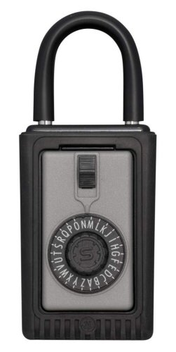 Kidde AccessPoint 001012 KeySafe Original 3-Key Portable, Spin Dial, Titanium -