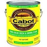 Cabot Deck & Siding Stain Oil Formula Deep Base Semi-Solid 1 Gl