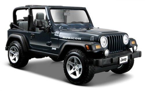 Maisto Special Edition 1:27 Jeep Wrangler Rubicon (Colors May Vary) Model: 31245