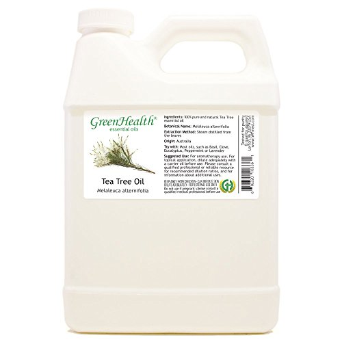 Greenhealth - Tea Tree 100% Pure Essential Oil - 32 fl oz