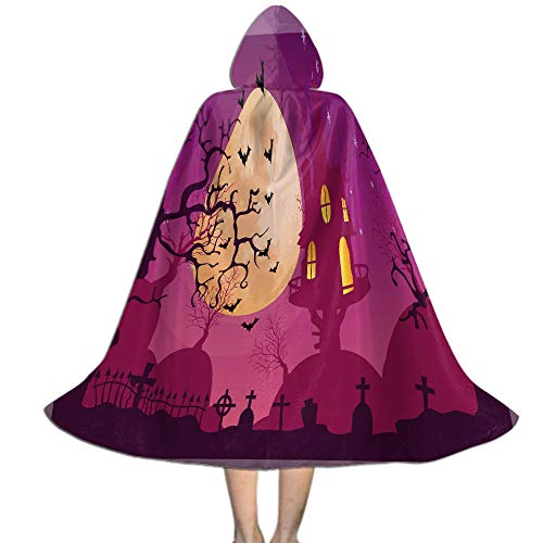 Ciara Halloween Costume (Khdkp Unisex Kids Hooded Cloak Cape, Costume Party Cosplay Halloween Decoration -)