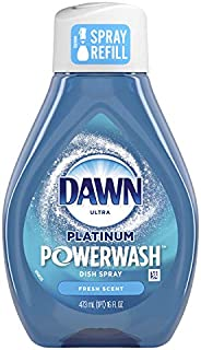 Dawn Platinum Powerwash Dish Spray Refill, Fresh Scent, 473 mL