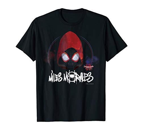 Marvel Spider-Man Spiderverse Red Hood Graphic T-Shirt