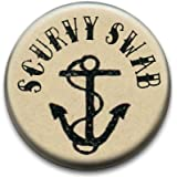 Shipmates Sailors Scurvy Swab Badge by RetroBadge