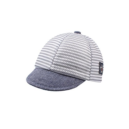 Iridescentlife Dot Baby Summer Caps Girl Boys Sun Hat with Ear (Mesh Gray)