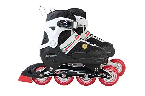 Ferrari Inline Skate, White, Size 34-37