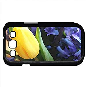 Precious Spring (Flowers Series) Watercolor style - Case Cover For Samsung Galaxy S3 i9300 (Black)