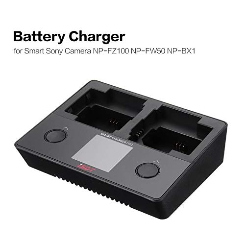 Wikiwand NP2 18W Mini Battery Charger DC Dual Independent Channel for Smart Sony Camera by Wikiwand (Image #4)