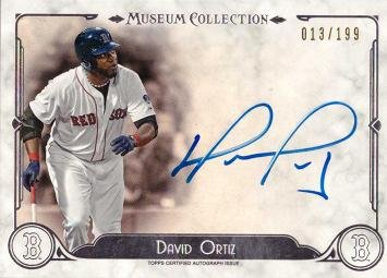 2014 Topps Museum Collection Archival Autographs #AA-DO David Ortiz Certified Autograph Baseball Card - Only 199 made! - Near Mint to Mint