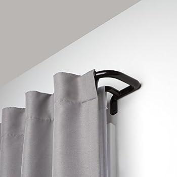 Amazon Com Umbra Twilight Double Curtain Rod Set Wrap