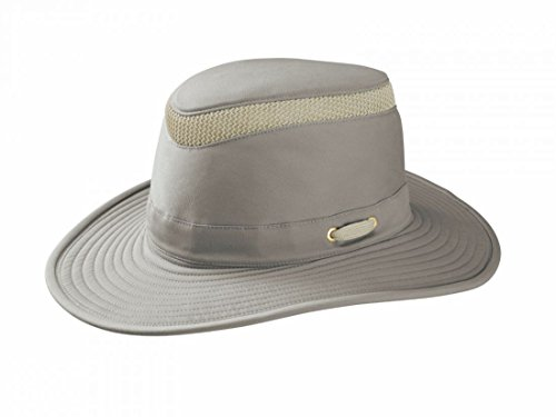 Tilley Endurables T4MO-1 Hiker's Organic Cotton Khaki/Olive Unisex Hat, 7 1/4 from Tilley