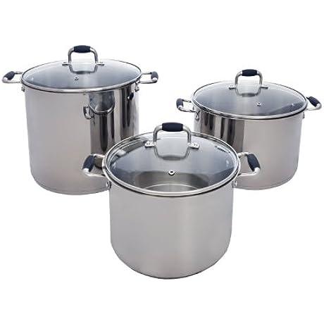 Pauli Cookware Never Burn Stock Pot 11 Quart
