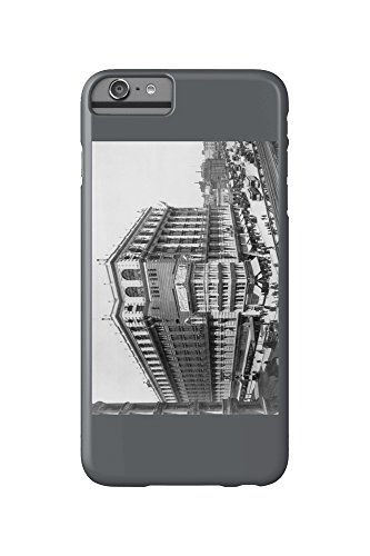 Macy's on Herald Square New York - Vintage Photograph (iPhone 6 Plus Cell Phone Case, Slim Barely - Square Herald Macys