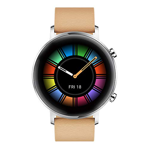 Huawei Watch GT 2 Classic – Smartwatch con Caja de 42 mm (Hasta 2 Semanas de Batería, Pantalla Táctil AMOLED de 1.39…