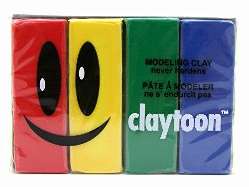 Claytoon 18150 Set Primary Colors, 1.4