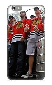 New Style Rightcorner Hard Case Cover For Iphone 6 Plus- Chicago Blackhawks Nhl Hockey 100