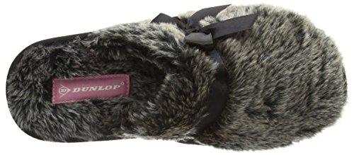 Gris Adrienne Gris Femme Chaussons Charcoal Dunlop qIx4Twx