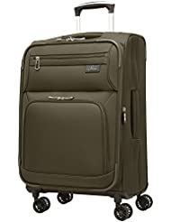 Skyway Sigma 5.0 21-Inch 4 Wheel Expandable Carry On, Forest Green, One Size