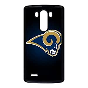 LG G3 Phone Case Football NFL St. Louis Rams Personalized Cover Cell Phone Cases GHX433220