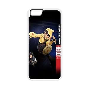 Printed Phone Case Big Hero 6 Baymax For iPhone 6 Plus 5.5 Inch NC1Q03053