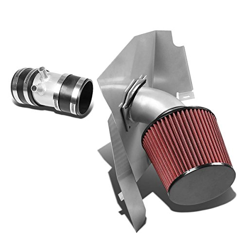 DNAMotoring AIP-2-HS-NF9933L-SLSL Cold Air Intake System and Heat (Nissan Xterra Intake)