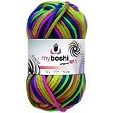 50g myboshi No.1 multicolor C8 Papagei