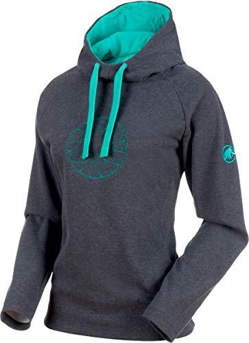 Better Bodies PERFORMANCE HOODIE GREYMELANGE LARGE > maglie felpe Sportshirt Damen-Sport-Shirts & -Tops