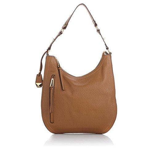 Jessica SimpsonEve Top Zip Hobo Shoulder Bag - Honey