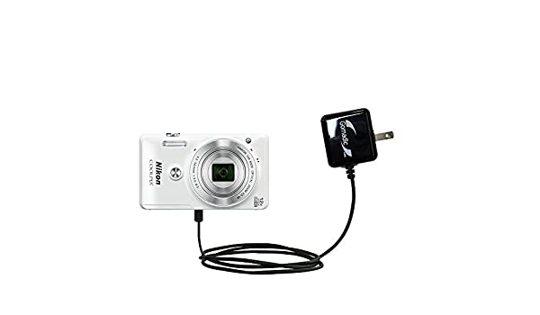 Amazingly Powerful Home Charge Design Built with Gomadic Brand TipExchange Advanced Rapid Wall AC Charger Compatible with Nikon Coolpix S640