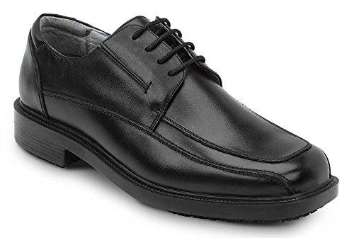 Zapatillas De Vestir Negras Resistentes Al Deslizamiento Sr Max Manhattan Para Hombre Negro