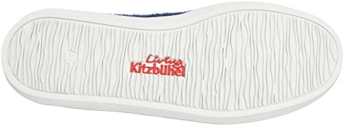 Living Kitzbühel Slip-on Gummi & Canvassohle - Zapatilla de estar por casa Unisex adulto Blau (nachtblau 590)