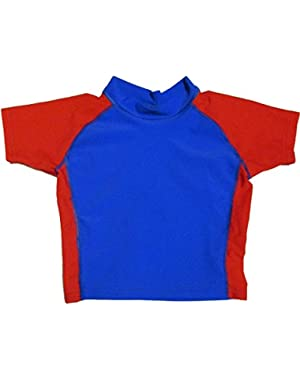 i play Baby & Toddler Short Sleeve Rashguard Shirt