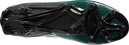 Adidas Adizero 5-sterren 5.0 Heren Voetbal Cleat Zwart-wit-donkergroen