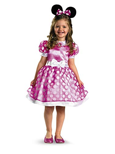 Minnie Mouse Clubhouse Classic Toddler Costume - M (3T-4T) -