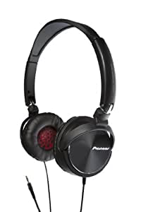 Pioneer Steel Wheels DJ-Inspired SE-MJ71-K Foldable Earcup Stereo Headphones w/3.5mm Jack (Black)
