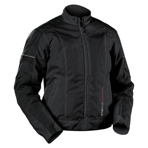 - Castle Ladies Escape Textile Motorcycle Jacket Black 12