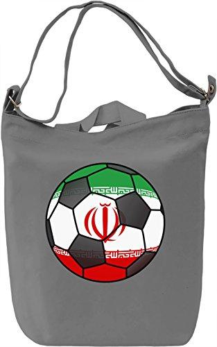 Iran Football Borsa Giornaliera Canvas Canvas Day Bag| 100% Premium Cotton Canvas| DTG Printing|