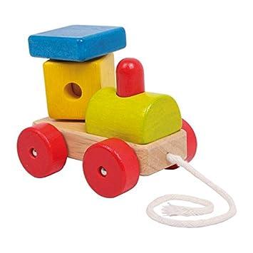 **Super**Kleinkind Nachzieheisenbahn/Nachziehspielzeug/Lokomotive/Lok**Holz** Kleinkindspielzeug