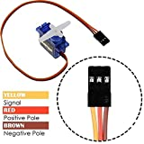 4Pcs SG90 9g Micro Servos for RC Robot Helicopter