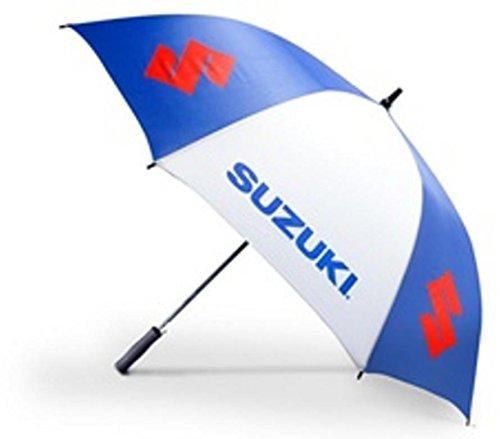 Suzuki Blue and White Umbrella 990a0-99178 Golf Umbrella
