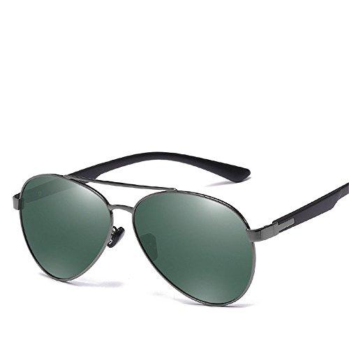 Chahua Chez les hommes de la mode des lunettes de soleil pour hommes lunettes de métal européens et américains, lunettes de conduite b