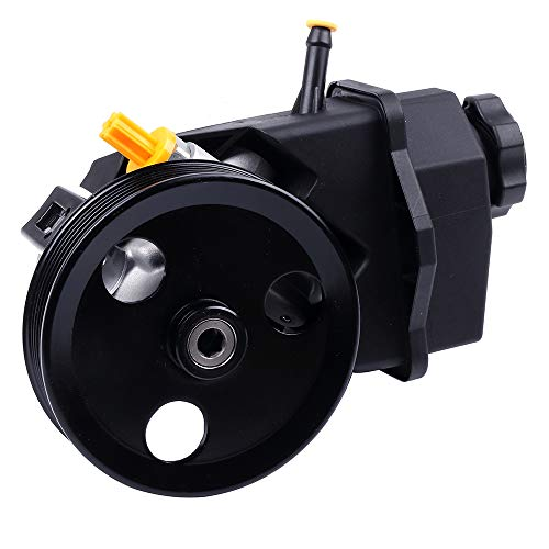 SCITOO Power Steering Pump Compatible for 2006 2007 2008 2009 2010 2011 Chevrolet Impala, 2006 2007 Chevrolet Monte Carlo 20-69989 Power Assist Pump ()