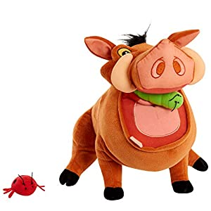 Disney's The Lion King Burping & Talking Pumbaa Plush – Amazon Exclusive