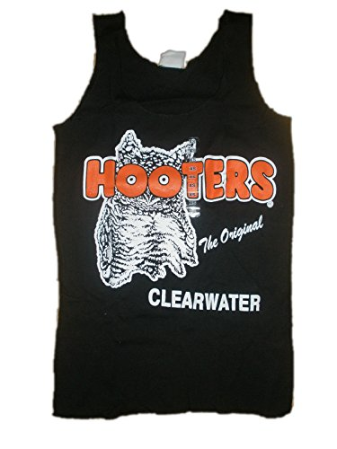 Hooters Clearwater Black Tank Top -