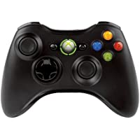 Microsoft Xbox 360 Wireless Controller, F/Windows-Oyun padi PC Siyah – ve video oyunlarını (F/Windows,, oyun padi PC, dijital, D-Pad, seçin, başlatın, kablosuz, USB 2.0)