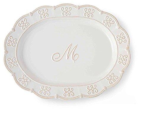 Mud Pie Initial Platter Medium
