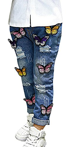 Butterfly Flare Jeans - 8